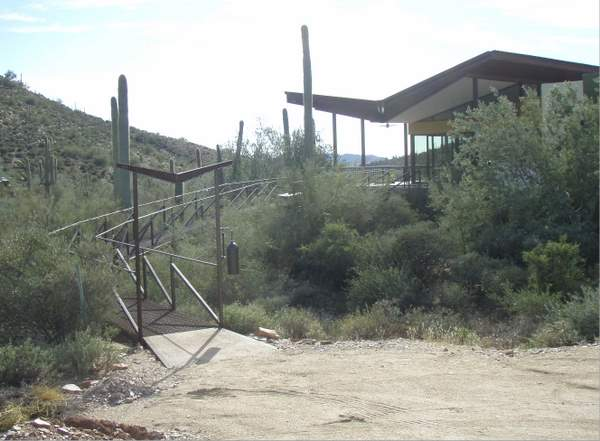 Low Ecological Impact Outdoor Catwalk Walkway by Desert Rat Forge