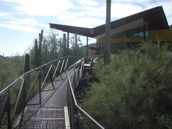 Low Ecological Impact Outdoor Catwalk Walkway Railing Desert Rat Forge
